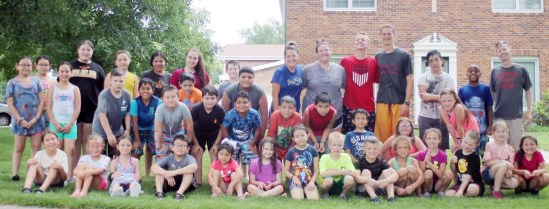 Youth at St. Mary & St. Andrew Enjoy Totus Tuus Activities